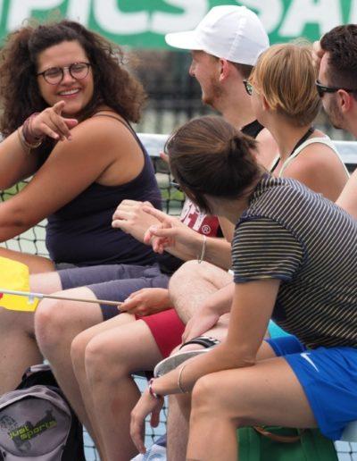 Fans bei Tennis